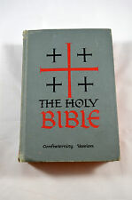 HOLY BIBLE Confraternity Version 1961 Benziger Brothers New Amer. Catholic Ed