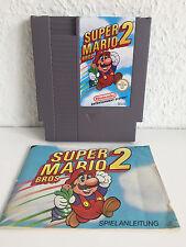Super Mario Bros. 2 | TOP Zustand + Anleitung | Nintendo NES Spiel-Modul