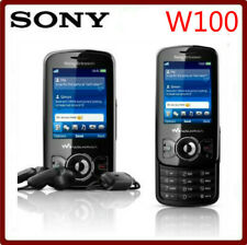 Sony Ericsson Spiro W100i - Black white (Unlocked) Cellular Phone