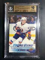 2016-17 Anthony Beauvillier Young Guns Canvas Rookie BGS 10 Pristine