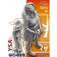 1/24 Ysa Girls in Action Resin Model Kits Unpainted GK Unassembled