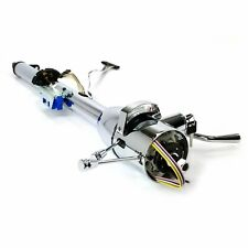 "33"" INCH CHROME GM STYLE TILT STEERING COLUMN AUTOMATIC SHIFT WITH KEY"