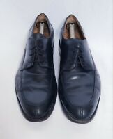Johnston Murphy Men's Black Leather Split Toe Oxford Derby Dress Shoes Size 11 W