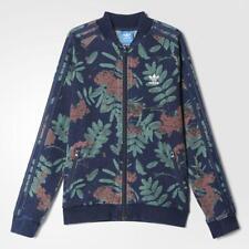 adidas Originals Junior Girls Floral Supergirl Track Top Jacket Trefoil | S96043 6-7y