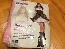 NEW Secret Wishes Sexy Buccaneer Babe Pirate Halloween Costume 2-6 Small #5063