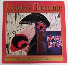 "ELVIS COSTELLO AND THE ATTRACTIONS Signed ""Blood & Chocolate"" Album Vinyl LP"