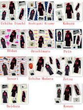 Naruto Akatsuki cosplay kostüm Zetsu Orochimaru Sasori Pein Konan set uniform