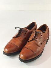 "Men's Allen Edmonds ""Sanford"" Cap Toe 12 B Made in USA Strand Lexington"
