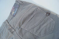 PLEASE Damen Hüft Jeans Hose Stretch Skinny Gr. X small XS Röhrenjeans grau TOP