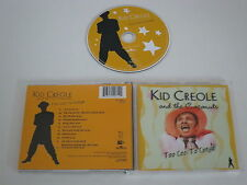 KID CREOLE AND THE COCOS/TOO COOL TO CONGA(BMG 74321 94071 2) CD ÁLBUM