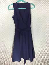 Mango/MNG Suit Navy Sleeveless Dress Size M day to night