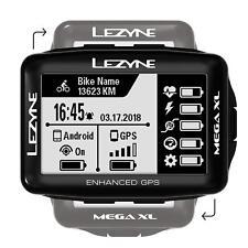 Lezyne Mega XL GPS Fahrradcomputer Navigation