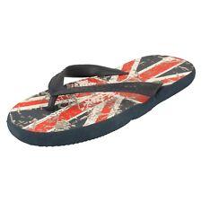 Childrens Union Jack Flip Flops - N0R022