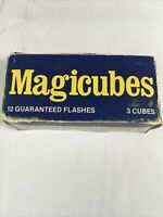 1 Boxes GE Magicubes (3 cubes 12 guaranteed flashes) Magic Cubes Flash