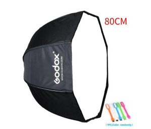 Godox 32 inches / 80cm Umbrella Octagon Softbox Reflector Diffuser with Carrying