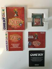GAME BOY GAMEBOY COLOR GBC BOXED BOITE LEGEND OF ZELDA ORACLE OF THE SEASONS EUR