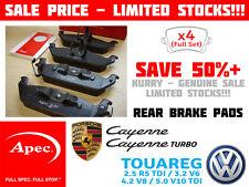 APEC 1414 Rear Brake Pads Porsche Cayenne & Turbo VW Touareg 2.5 3.2 5.0 PAD1414