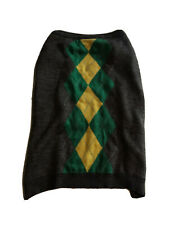 New listing Top Paw Argyle Dog Sweater Green/Grey Size Xxl