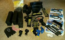 HUGE Lot of Tyco Race Track w/ specialty pieces! 225 items + rails supports ++++