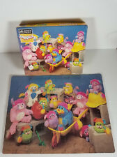 Popples cartoon Construction Workers 63 Piece Jigsaw Puzzle 1987 Golden complete