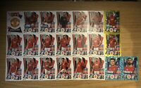 MATCH ATTAX 2020/21 FULL TEAM SET OF ALL 22 MANCHESTER UNITED CARDS INC FOILS