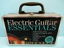 Electric Guitar Essentials Gig Survival Kit--Tuner, Capo, Strings, Picks, Cable