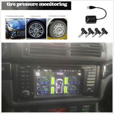 4 x Built in TPMS Car Tire Pressure Monitoring Temperature Alarm For Android DVD