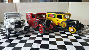 Danbury Mint 1/24 1930s Ford Good Humor-Coke-Busch 1/24th DAMAGED LOT 3