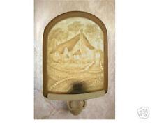 Cottage Lithophane Night Light Porcelain Nightlight