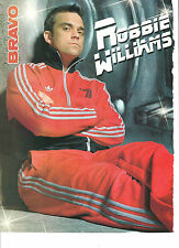 Robbie Williams, Full Page Pinup, Foreign Magazine