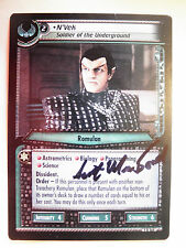 Autographed  2E  N'Vek, Soldier of the Underground  (Scott MacDonald)