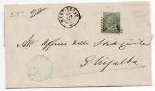 1865 ITALY REGNO 10 CENTESIMI NUMERALE 1059 FOSSOMBRONE 23/4 B/5725