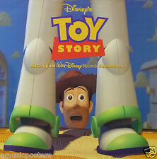 "TOY STORY ""SOUNDTRACK"" U.S. PROMO POSTER-Disney,Randy Newman,Tom Hanks,Tim Allen"