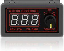 Motor Speed Controller Pwm Dc 12v 24v 60v 500w Adjustable Speed Regulator Us New