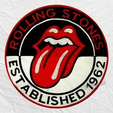 The Rolling Stones Established 1962 Embroidered Big Patch Mick Jagger Richards