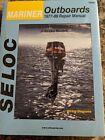 Brand New Seloc Service Repair Manual Book 1400 Mariner Outboards 77-89 2-60 Hp