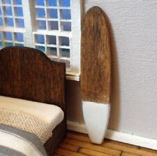 Dollhouse Miniature Quarter Scale Surfboard -- 1:48