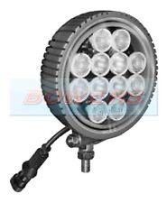 EUROLITES FL12L 9-30V 12 LED CREE HEAVY DUTY ROUND WORKLAMP WORK/SPOT LAMP/LIGHT
