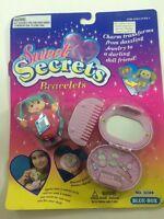 Sweet Secrets Bracelets New On Card Blue-Box