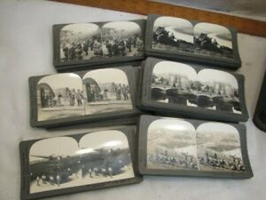 Keystone V 1-4 Stereographic Library Primary Real Photo Cards Jobs of the World