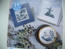 Cross stitch chart by Lucie Heaton based on Blue Delftware