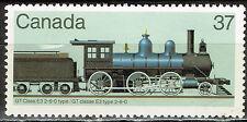 Canada Railroad Locomotive stamp