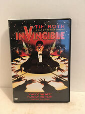 INVINCIBLE DVD TIM ROTH WERNER HERZOG FREE SHIPPING