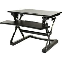 "Staples Sit to Stand Adjustable Desk Riser 27"" 2447503"