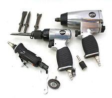 DeVilbiss Dapc Air Tool Kit Air Hammer Impact Wrench Rotary Tool Grinder