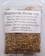 SHEPHERDS PURSE Magical Dried Herb ~ Prosperity/Protection/Healing ~ Witchcraft