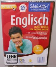 Englisch Software Schule PC CD-ROM Lernspaß 4.Klasse Nachhilfe Schülerhilfe T100