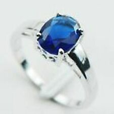 Plus Size Women Ring Size 12 Ring Us Seller Elegant Blue Sapphire Simulated Gem