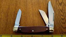 Vintage SEARS U.S.A. Folding Pocket Knife 95419 3 Blade RARE FIND MINT