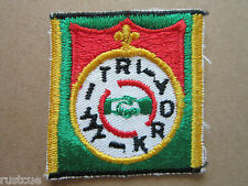 Tri York Canada Canadian Boy Scouts Scouting Woven Cloth Patch Badge